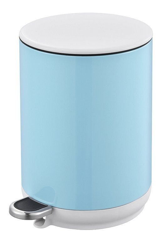 Blue Canyon Natural Pedal Bin Soft Close 5L - Blue