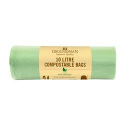 Groundsman Compostable Bag 10L