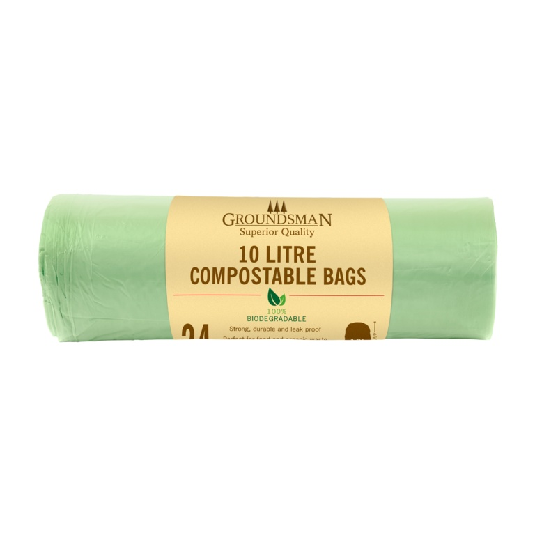 Groundsman Compostable Bag 10L - Roll 24