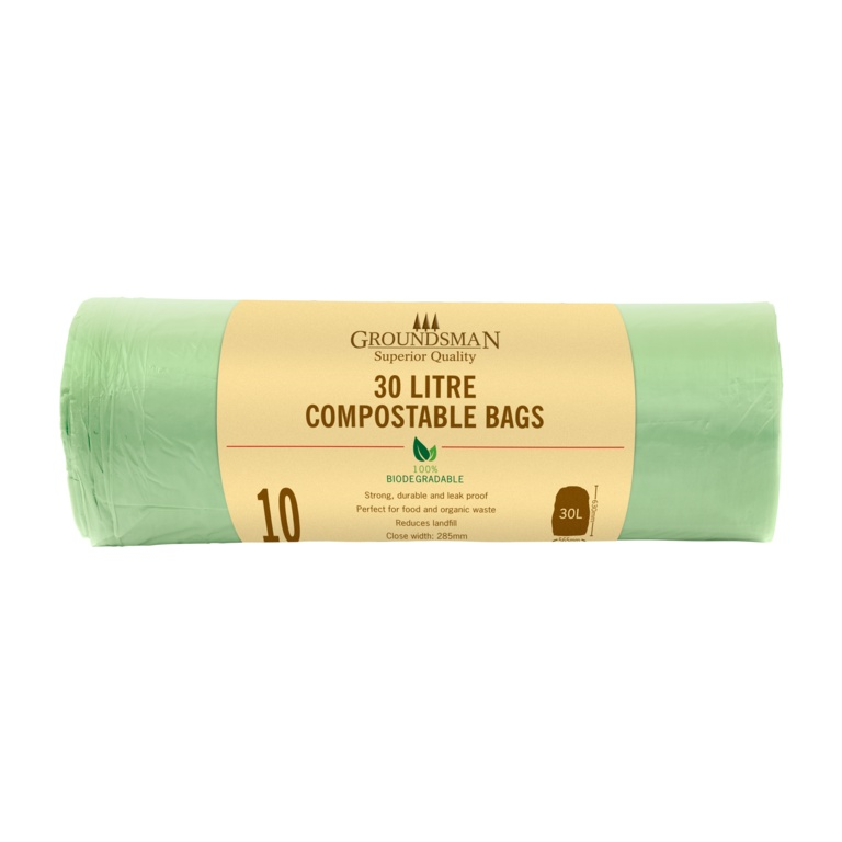 Groundsman Compostable Bag 30L - Roll 10