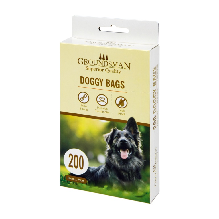 Groundsman Doggy Bags - Pack 200