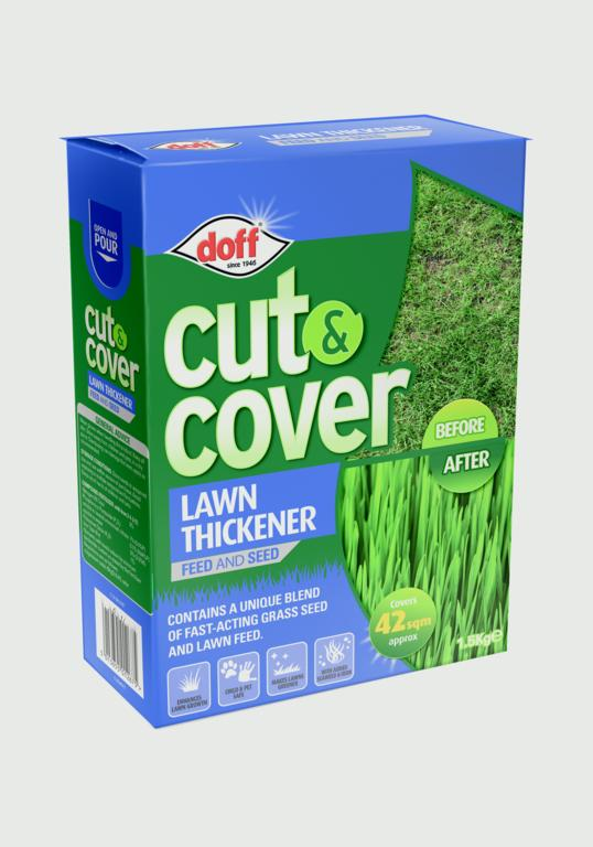 Doff Cut & Cover Lawn Thickener - 1.5Kg