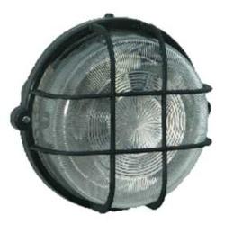 Brennenstuhl Round Lamp IP44 100w - Black