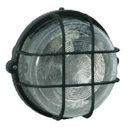 Lyvia Round Lamp IP44 100w - Black