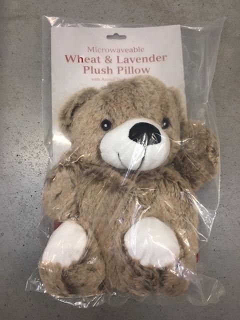 Hearth & Home Microwavable Plush Pillow - Wheat & Lavender