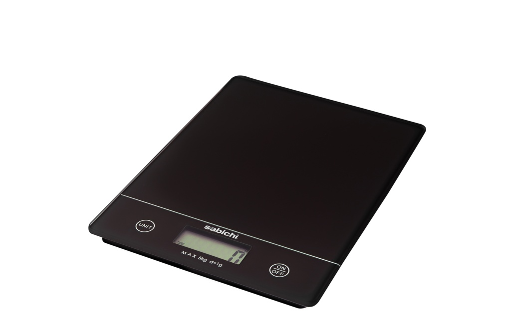Sabichi 5kg Digital Kitchen Scales - Black