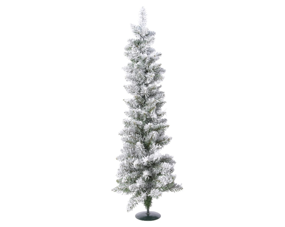 Kaemingk Snowy Vienna Pine Mini Tree Green/White - 75cm