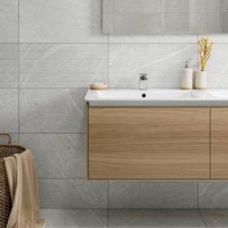 Verona Bexley Gris Linear Porcelain Wall & Floor Tile