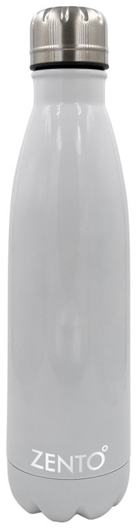 Casa Casa Stainless Steel Vacuum Water Bottle - White 500ml