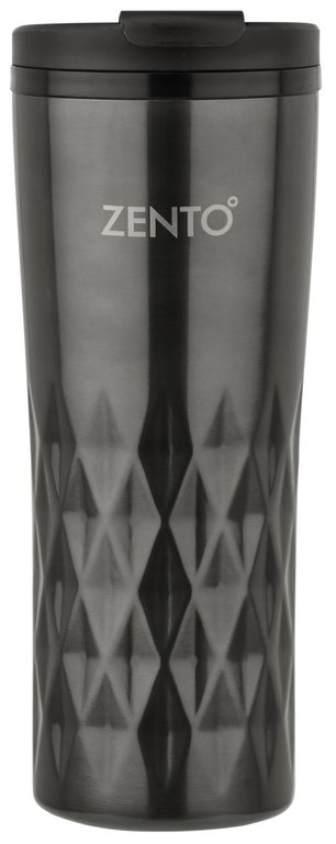 Casa Casa Diamond Vacuum Tumbler - Gun Metal 450ml