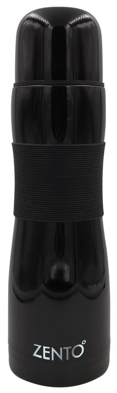 Casa Casa Silicon Grip Flask - Black 500ml