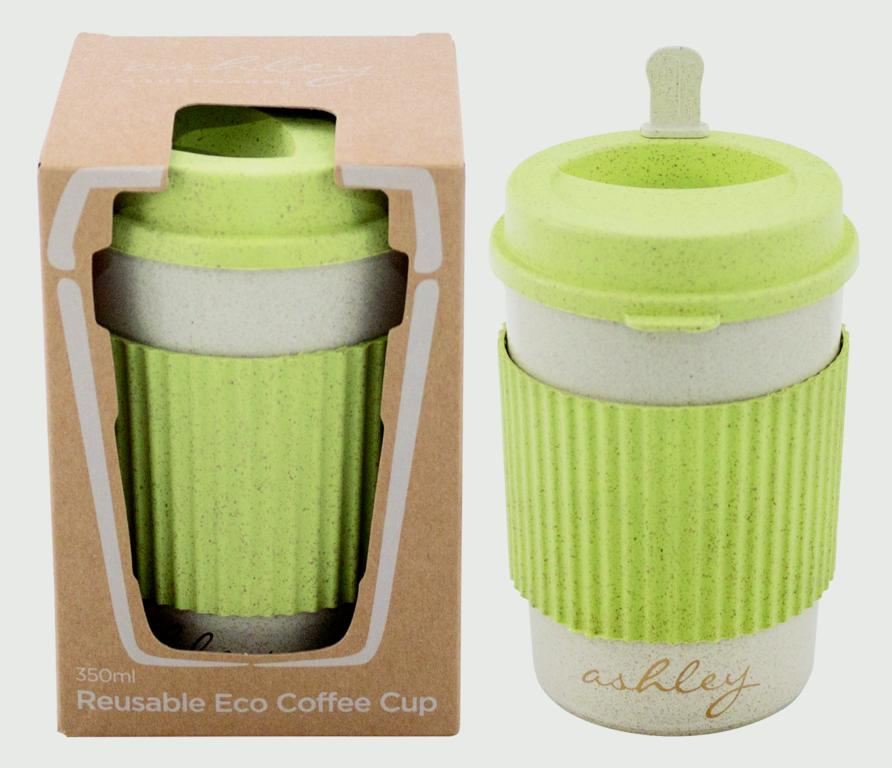 Ashley Reusable Eco Coffee Cup - 350ml