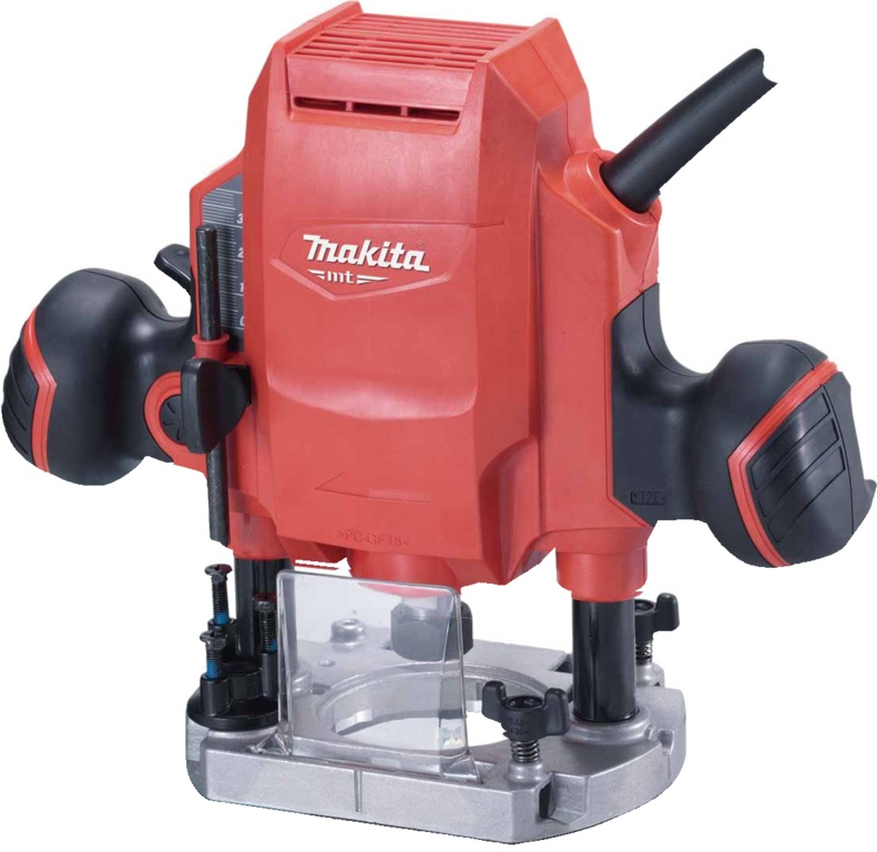 """Makita 1/4"""" Or 3/8"""" Plunger Router - 240v"""