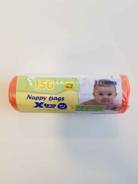 Tidyz Nappy Bags - Roll 150