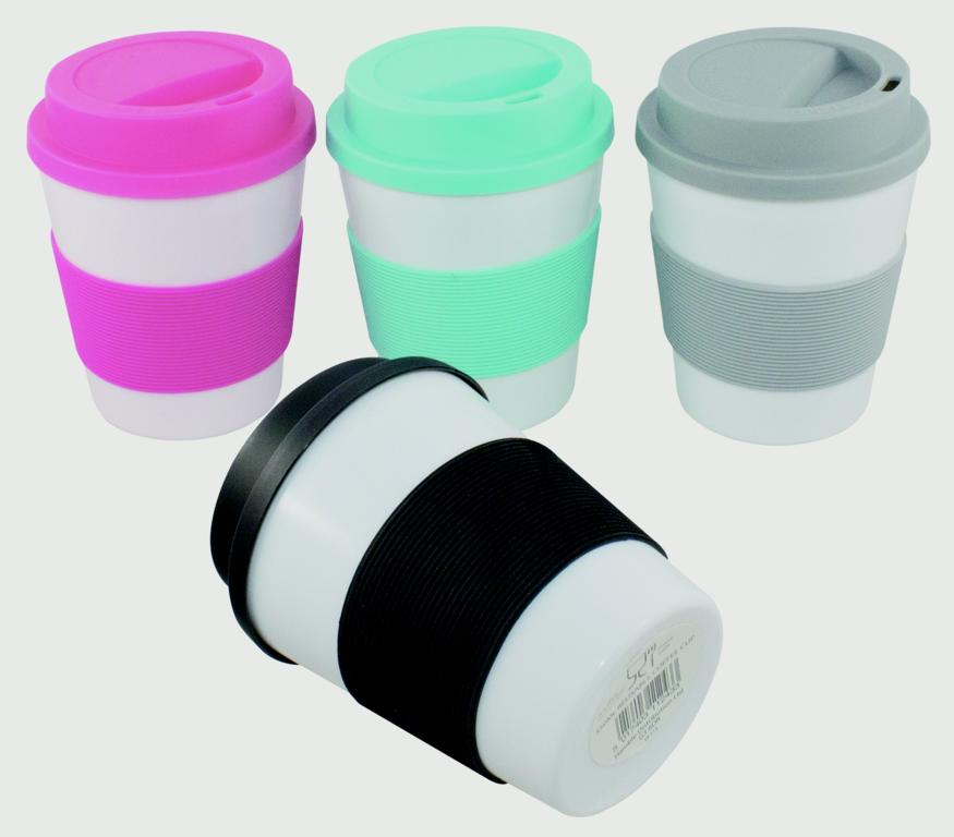 Ashley Reusable Coffee Cup - 350ml Assorted Colours