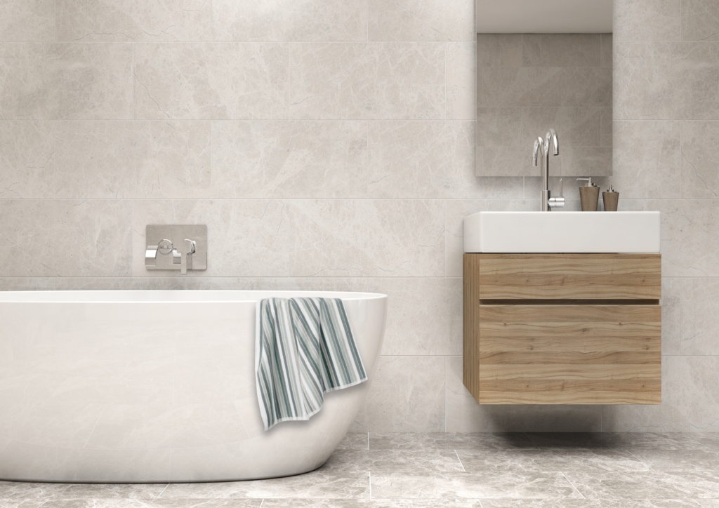 Johnson Tiles Wall Tile 0.9m2 - Siena Grey