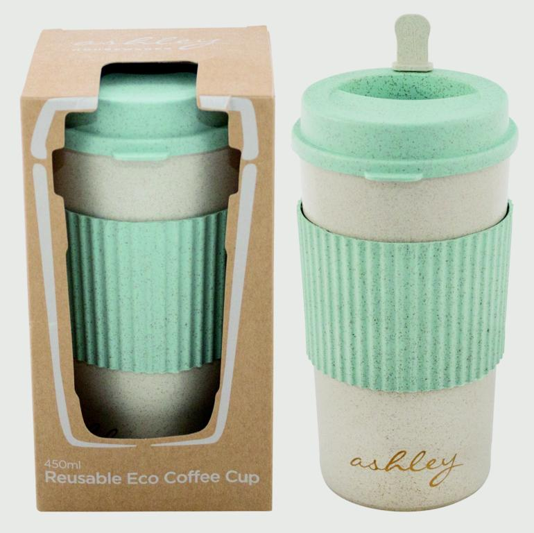 Ashley Reusable Eco Coffee Cup - 450ml