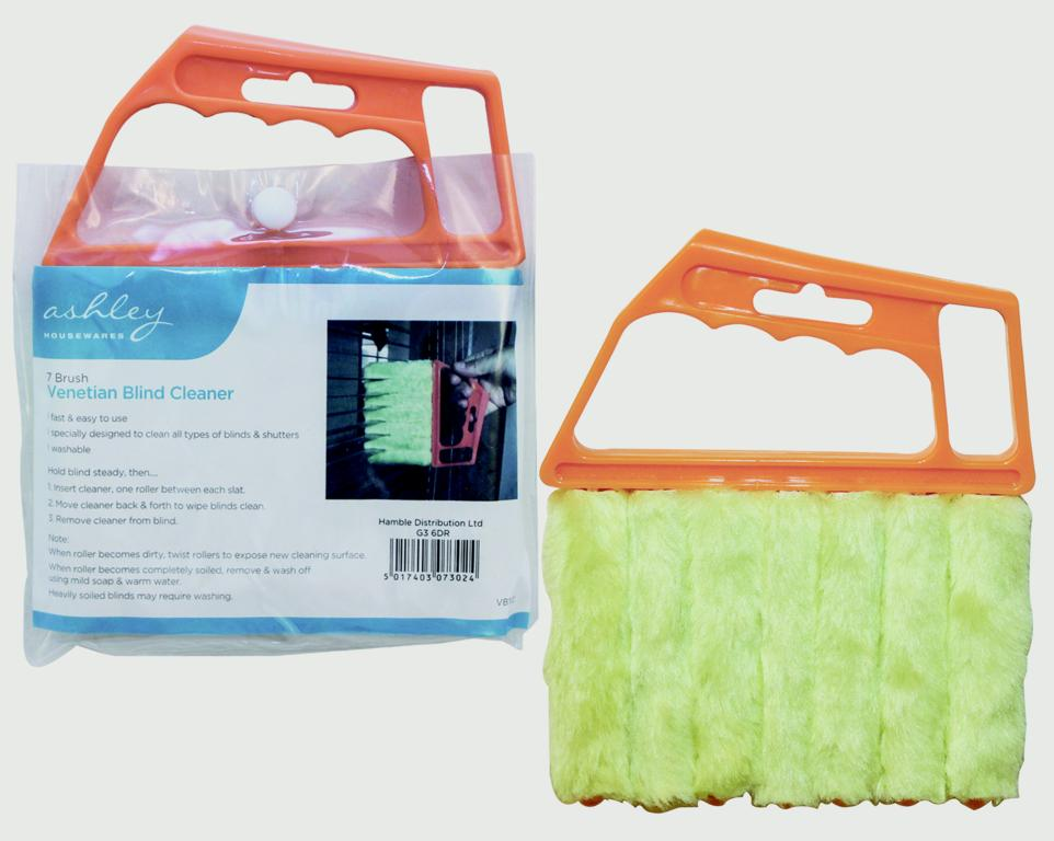 Ashley 7 Brush Venetian Blind Cleaner