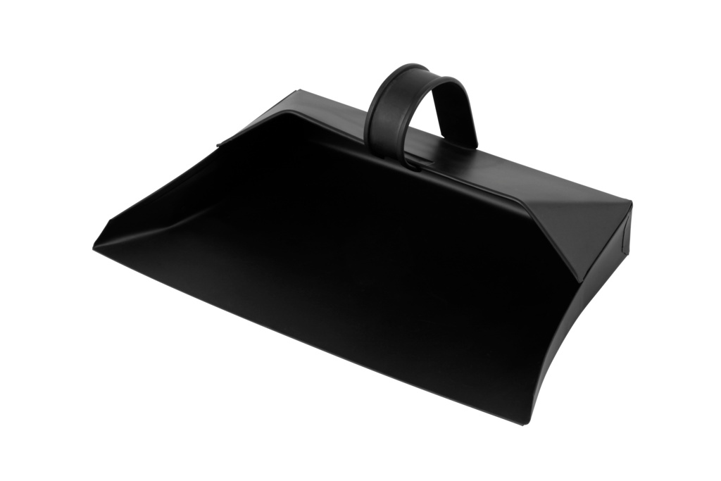 Groundsman Metal Dustpan - Black