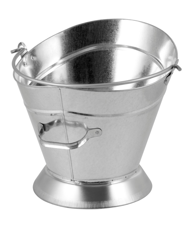 Hearth & Home Waterloo Galvanised Coal Bucket