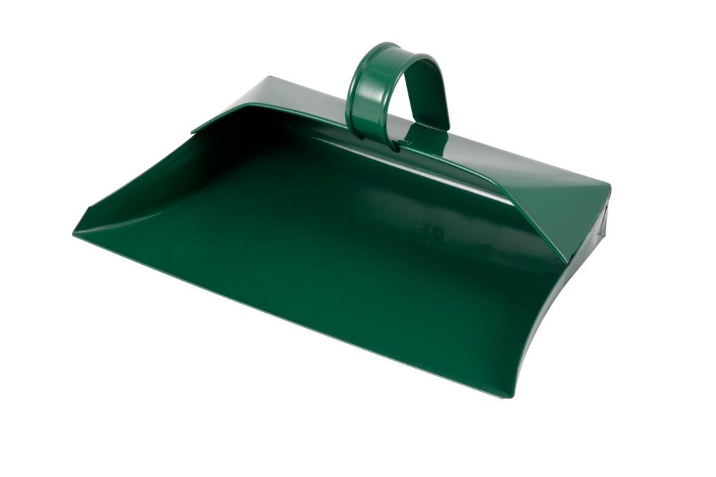 Groundsman Metal Dustpan - Green