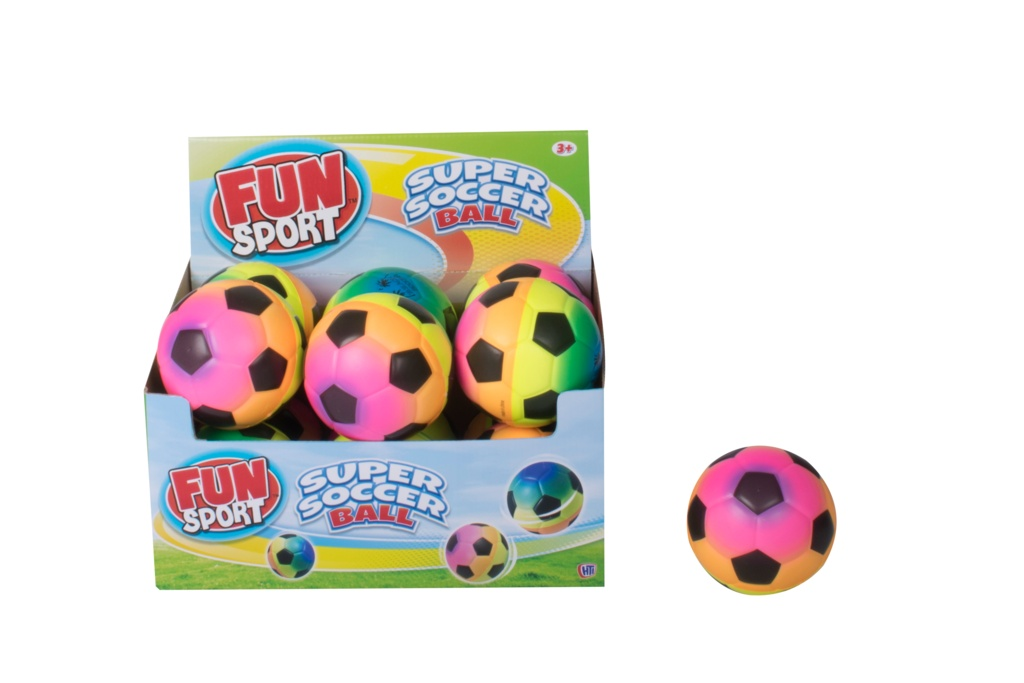 Fun Sport Rainbow Super Soccer Ball