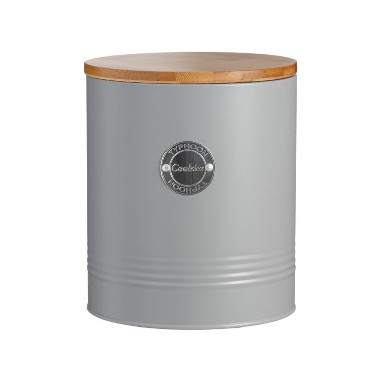 Typhoon Living Cookie Jar - Grey