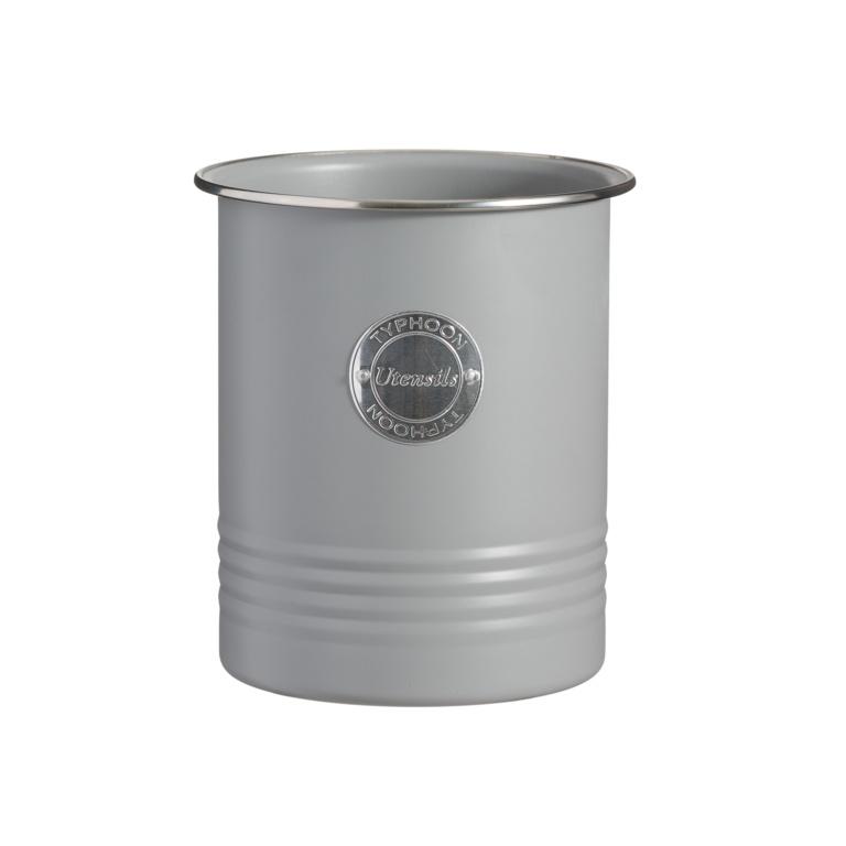Typhoon Living Utensil Jar - Grey
