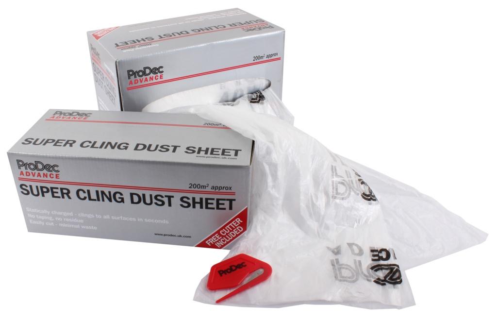 ProDec Super Cling Dust Sheet - 200sqm