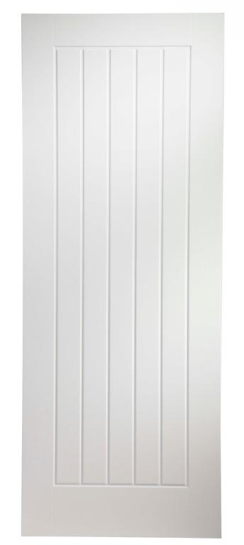 """Jeld Wen Newark 5 Panel Moulded Internal Fire Door - 78 x 33"""""""