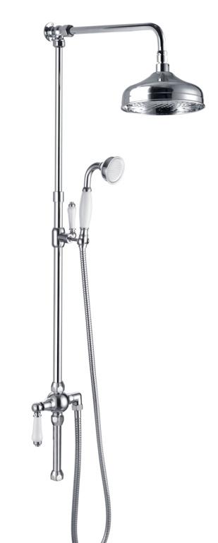 SP Traditional Riser Kit Shower Headset