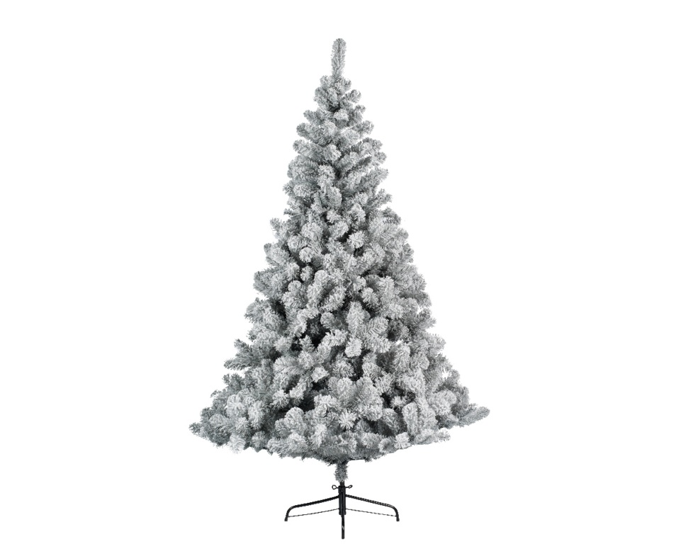 Ambassador Frosted Imperial Grey Pine Tree - 210cm