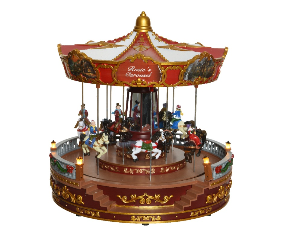 Kaemingk LED Christmas Carousel - 28 Light