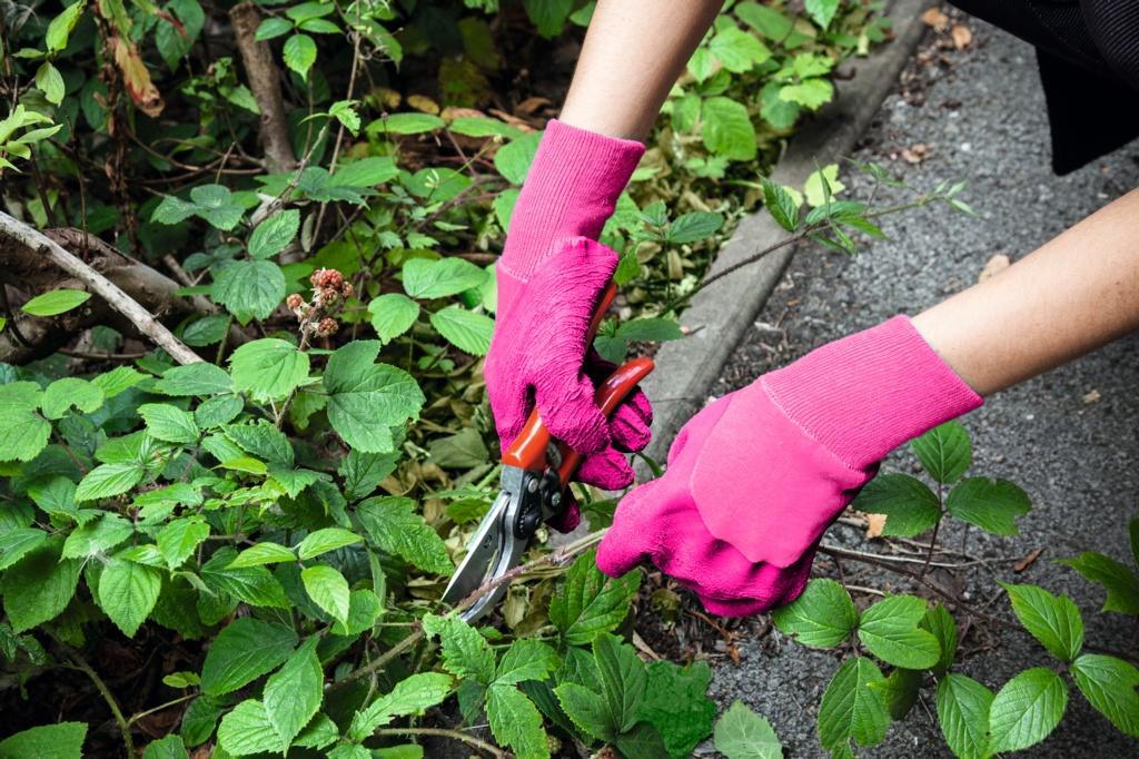 Ambassador Ladies Latex Heavy Duty Glove Pink - Med