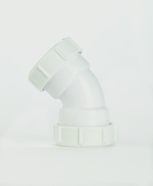 Make Compression 135° Bend 40mm - 40mm