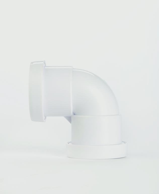 Make Push-fit 90° Bend 40mm - 40mm