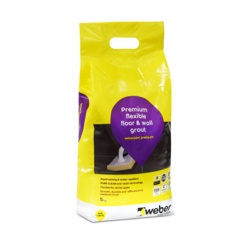 Weber Weberjoint Premium Flexible Floor & Wall Grout 5kg
