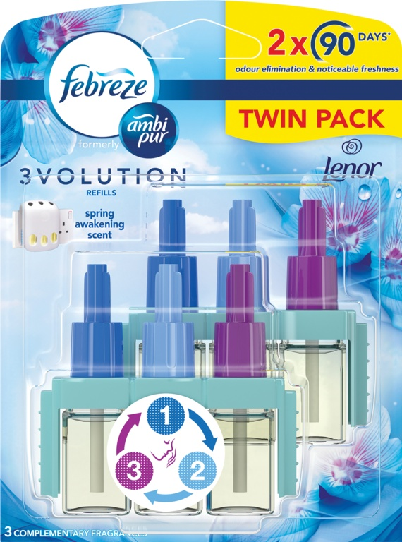 Ambi Pur 3volution Refills 2 x 20ml - Spring Awakening