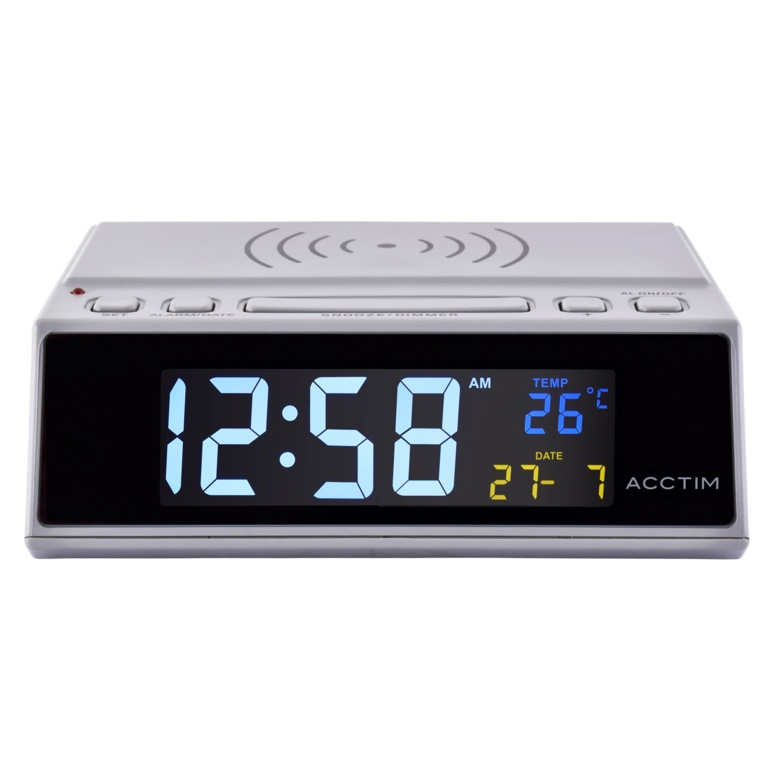 Acctim Wireless Charger Clock Radio