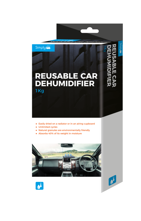 Simply Reusable Car Dehumidifier - 1kg