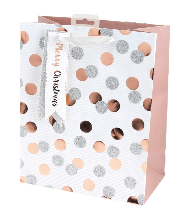 I G Design Metallic Spots Bag - Large