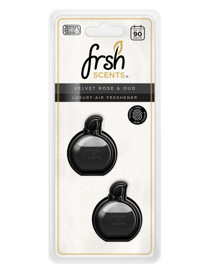 Fresh Scents Mini Diffusers Scented Oil 3ml Twin Pack - Velvet Rose & Oud