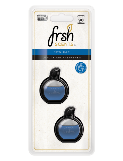 Fresh Scents Mini Diffusers Scented Oil 3ml Twin Pack - New Car