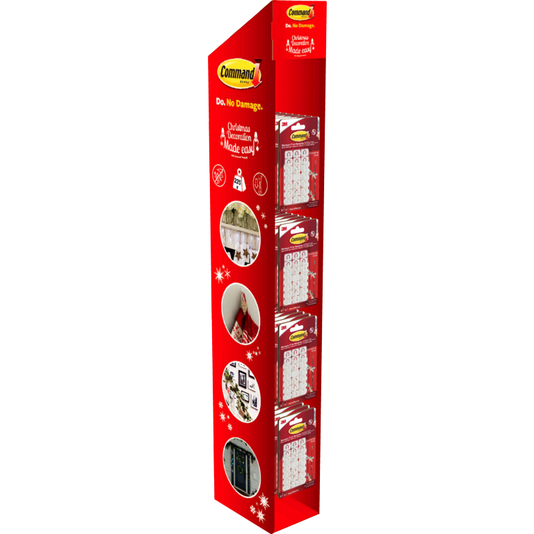 Command™ Peg Wing Display Unit