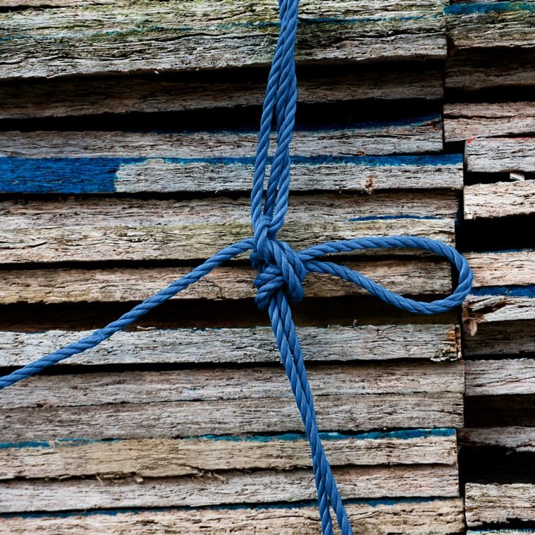 Ambassador Mini Coil Blue General Purpose Rope - 10mm x 12m