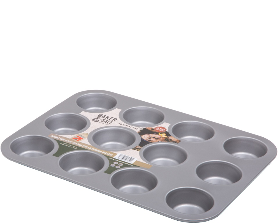 Baker & Salt 12 Cup Muffin Tray