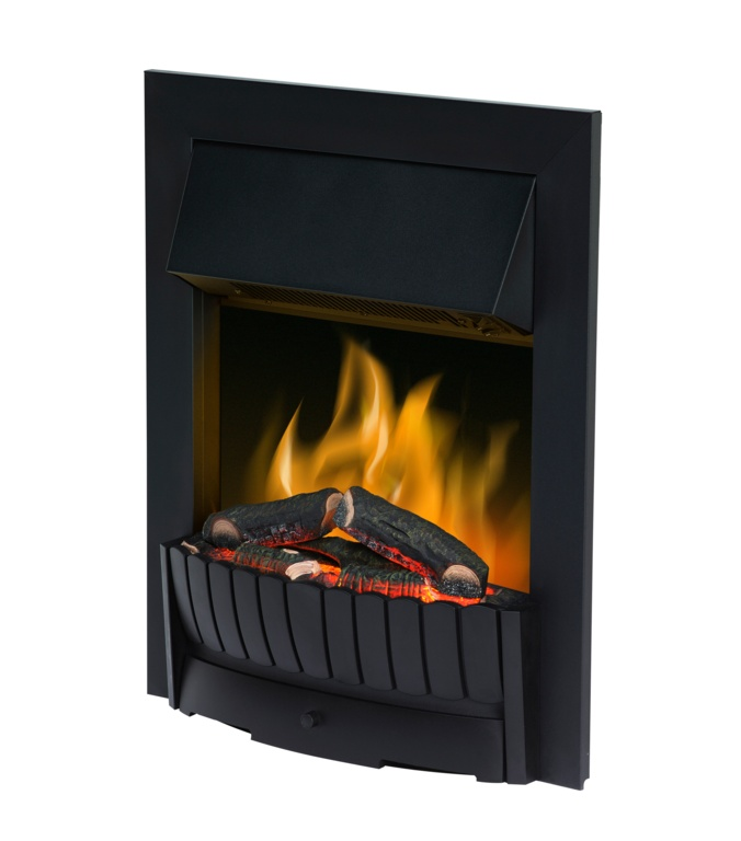 Dimplex Clement Black Free Standing/Inset Fire - 2000w