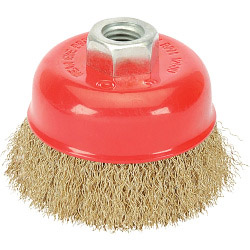 Draper Crimped Wire Cup Brush - 100mm