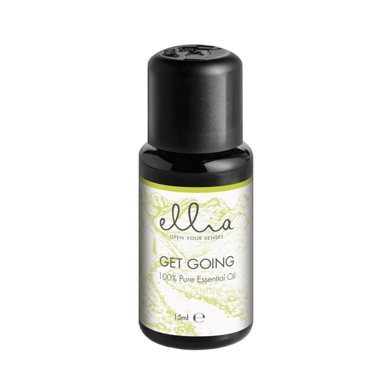 Homedics Ellia Get Going Pure Essential Oil Blend - 15ml