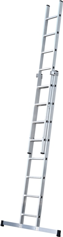 Werner 2 Section Trade Extension Ladder - 2.51m